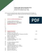 Calendar of the Order of Preachers