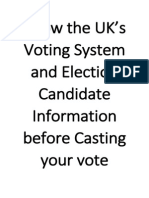 Know the UK's Voting System and Election Candidate Information before Casting your vote.pdf