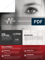 Brochure on Human Trafficking