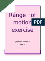 Range   of   motion exercise.docx