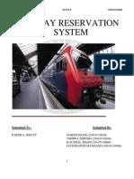 SRS documentation Online railway
