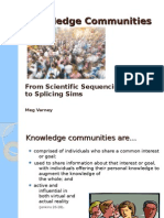 Knowledge Communities 2