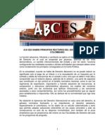 ABCES Regimen Aduanero