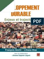 Développement Durable- Enjeux Et Trajectoires