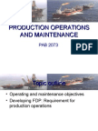 1.Production Operations and Maintenance