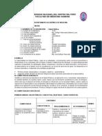 Silabus de Salud Publica UNCP 2015 I