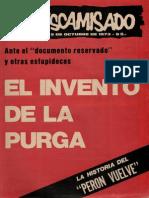 El Descamisado Nº 21 El invento de la purga.