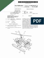 Patente de Helicoptero Ultraligero Us20070262197