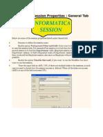 Informatica Session Properties
