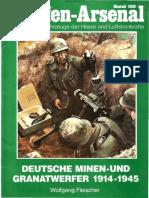 Waffen Arsenal 150 - Deutsche Minen-und Granatwerfer 1914-1945+