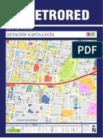 Metro Santa Lucia Plano Entorno