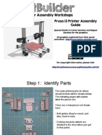 Manual-r12 Assembly PRUSA i3 Step by Step
