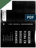 Texto Educación Plena en DDHH 3a y 4a Parte