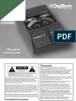 Manual Pedalera Digitech