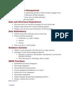 File System Data Management