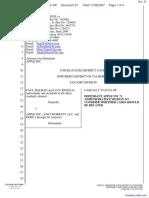 Holman et al v. Apple, Inc. et al - Document No. 27