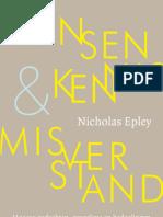 mensenkennis & misverstand - Epley (leesfragment)
