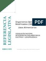 Organismos Geneticamente Modificados _OGM_ Usos Alimentarios