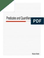 Predicate&Quantifier for Computer