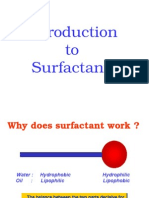 Introduction to Surfactants