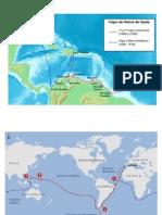 Mapas de Los Viajes de Colon