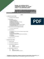 Manual de Ope y Mant Redes Agua y Alcantarillado
