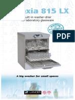 Lancer Glass Washer 815LX
