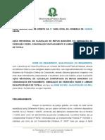 Modelo - Ao Revisional de Clausulas de Mtuo Bancrio Com Obrigao de Fazer Consignao Em Pagamento e Liminar Em Antecipao de Tutela