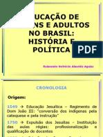 Educacao de Jovens e Adultos No Brasil Helvecio