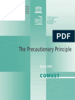 Comest - The Precautionary Principle