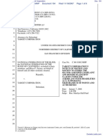 National Federation of the Blind et al v. Target Corporation - Document No. 154