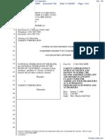 National Federation of the Blind et al v. Target Corporation - Document No. 154