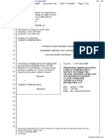 National Federation of the Blind et al v. Target Corporation - Document No. 155
