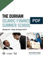 Durham University - Islamic Finance Summer School 2015