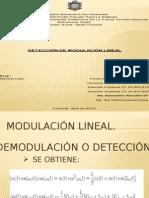 Modulacion lineal