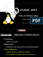 Intro Software Libre
