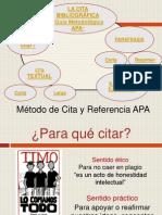 Método de Cita y Referencia APA_9_ago_2014 [Reparado]
