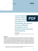 Analisis Resolicon 1325 y 18