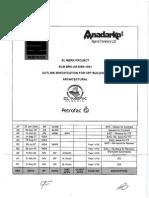 ELM-BRC-AR-DSN-1001 - Outline Spec for CPF Buildings - Architectural