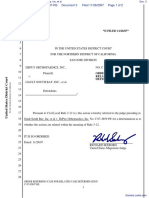 DePuy Orthopaedics, Inc. v. Gault South Bay, Inc. et al - Document No. 3