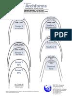 Orthodontic Chart Archforms Comparison
