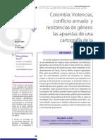 colombia conflicto armado y resistencias de las muejeres