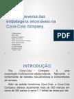 LogÃ-stica Reversa Das Embalagens RetornáVeis Na Coca-Cola Company