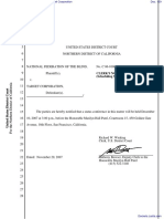 National Federation of the Blind et al v. Target Corporation - Document No. 159
