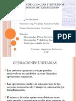 operaciones unitariaoperaciones