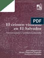 Economia Del Crimen Trabajo Sobre Crimen Violento Uca