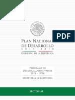 Programa de Desarrollo Innovador2013-2018