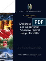 C.D. Howe Shadow Budget 2015