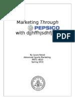 marketing through sports paper