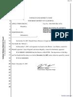 Apple Computer, Inc. v. Podfitness, Inc. - Document No. 81
